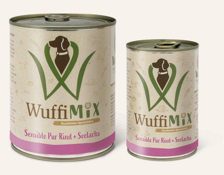 WuffiMIX Sensible Pur Rind + Seelachs