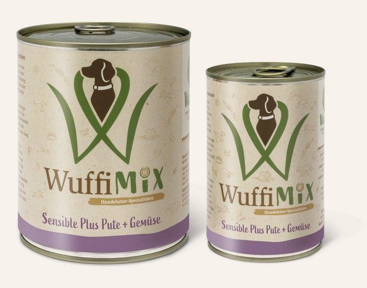 WuffiMIX Sensible Plus Pute + Gemüse