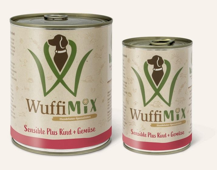 WuffiMIX Sensible Plus Rind + Gemüse
