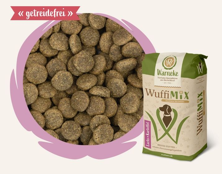 WuffiMIX Lachs & Kartoffel 12,5kg